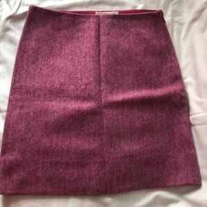 Pink Kors Wool Skirt